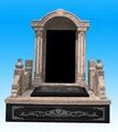 大理石花岗岩墓碑 3