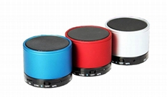 Wireless Bluetooth Mini Speaker with MIC Cylindrical Micro SD Memory Card Slot
