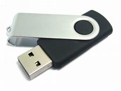 Swivel USB Memory Stick 64GB China Manufacture Twist USB Stick 64GB