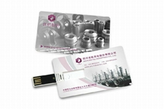 Low Price Credit Name Card USB Flash Disk Pen Drive USB Business C