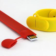 Slap Wrist USB Flash Drive Wristband USB Bracelet Pen Drive Memory Stick