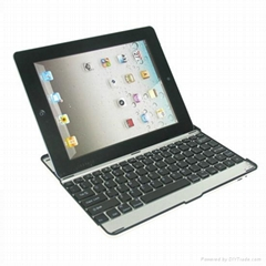 iPad Aluminium Bluetooth Keyboard with Holder