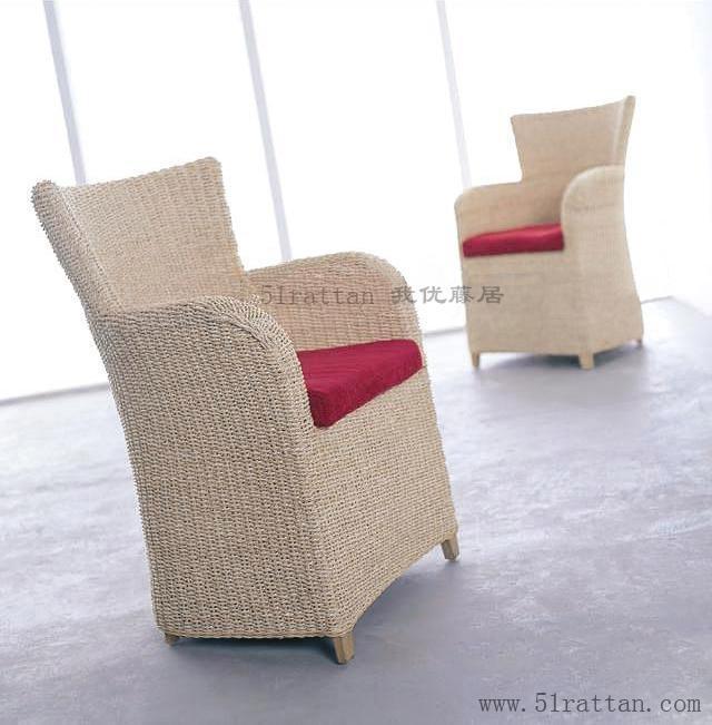 藤編夫人椅 1