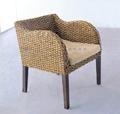 藤編咖啡椅