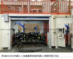 柔性弧焊機器人工作站