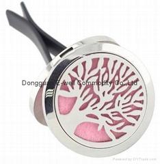 Stainlss Steel Teee Locket 30mm Oil Diffuser Perfume Clip