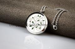 Top Selling Tree Perfume Locket Necklace