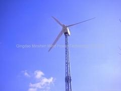 New style 10kw wind turbine
