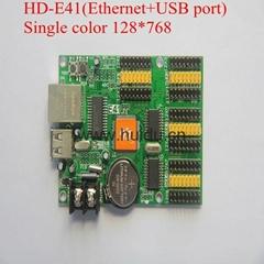 p10 sngle color led display controller HD-E41