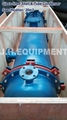 Glass lined shell and tube condenser, 5m2-20m2, glass lined condenser