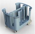 Adjustable Dish Carts