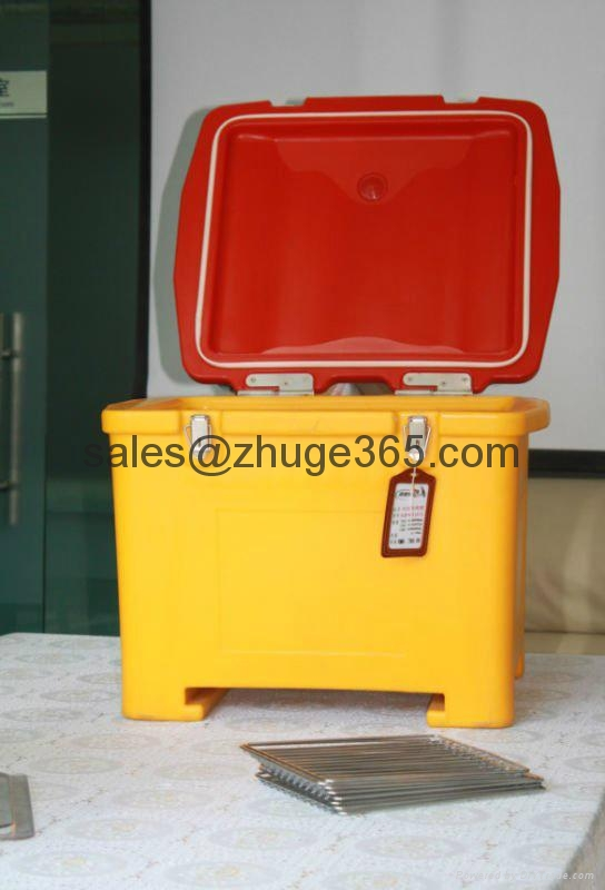 55Liter Top Loading Insulated Pizza Food Delivery Box 3