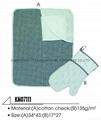 cotton mitten