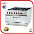 Gas Cooking Range (6 burners) with Oven