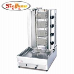 Gas Kebab Machine with 4 burners