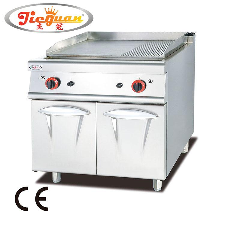 Gas Griddle with Cabinet 1