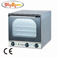 Electric perspective convection oven