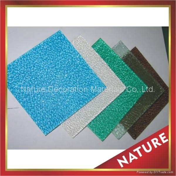 polycarbonate pc embossed sheet sheeting panel board plate 2
