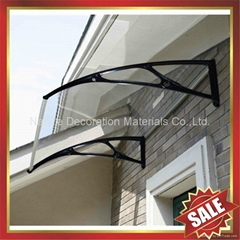 outdoor door window diy awning canopies canopy with cast aluminium bracket