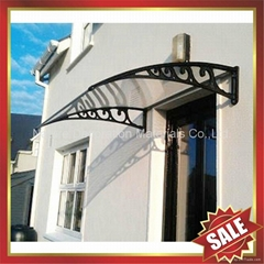 Merican DIY pc polycarbonate canopy awning rain sun cover shield for door window