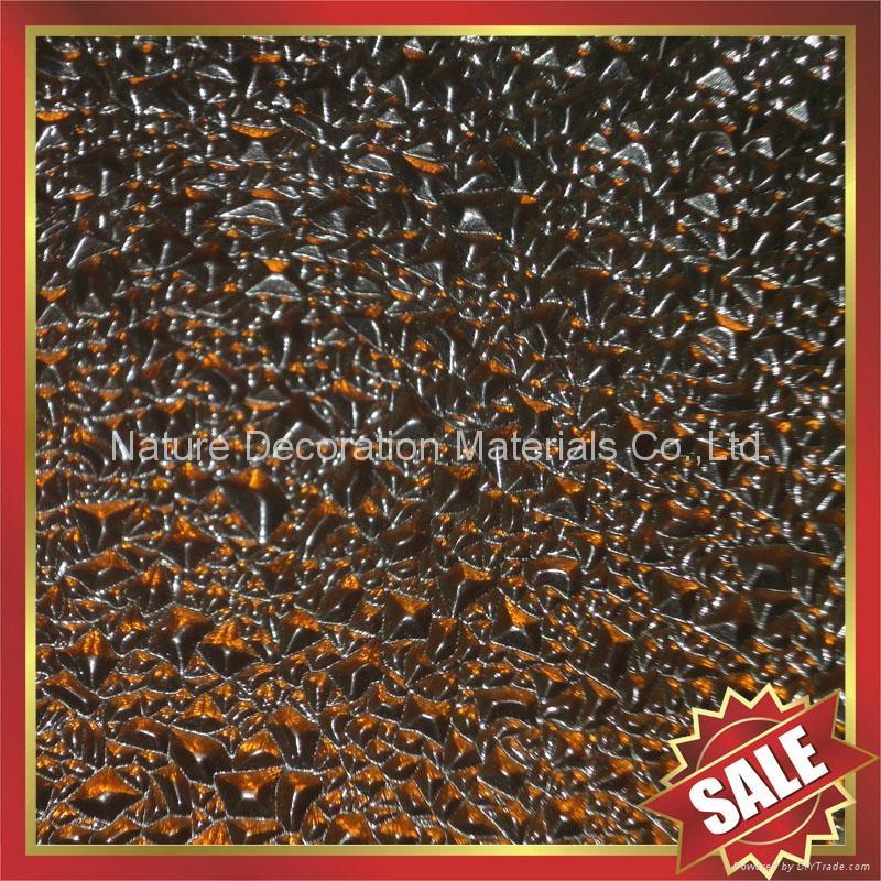 diamond embossed pc polycarbonate sheet sheeting panel board 5