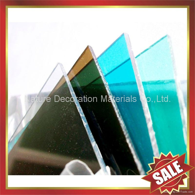 polycarbonate pc solid sheet sheeting panel board plate 5