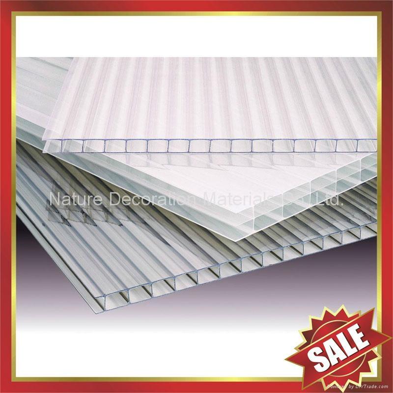crystal pc hollow twin wall sheet sheeting panel plate board 4
