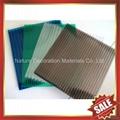 crystal pc hollow twin wall sheet sheeting panel plate board