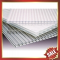 hollow multi wall pc polycarbonate roofing sheet sheeting panel board plate