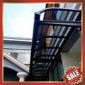 aluminium awning/canopy/shed for carport