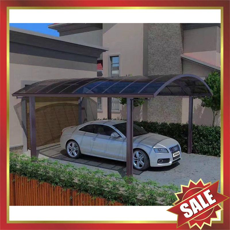 parking polycarbonate aluminum alloy carport car shelter canopy awning 4