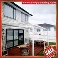 house patio gazebo door window pc polycarbonate aluminum canopy awning shelter