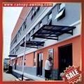 house patio gazebo door window pc polycarbonate aluminum canopy awning shelter 3