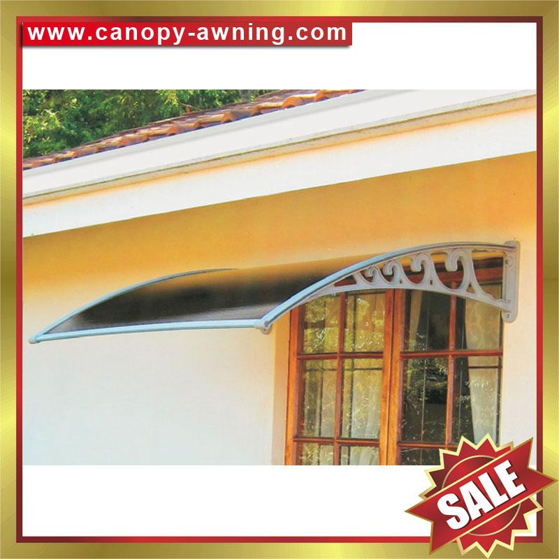 outdoor window door diy pc awning awnings canopy canopies cover shelter 3