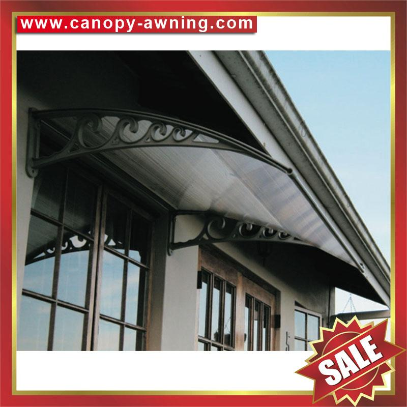 house door window pc diy Awning canopy shelter cover shield 3