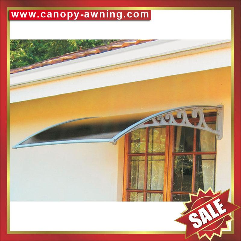 house door window pc diy Awning canopy shelter cover shield 4