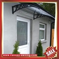 house door window pc diy Awning canopy shelter cover shield 5