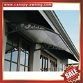 Merican DIY pc polycarbonate canopy awning rain sun cover shield for door window 2