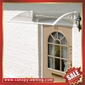 Merican DIY pc polycarbonate canopy awning rain sun cover shield for door window 3