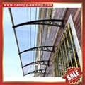 Merican DIY pc polycarbonate canopy awning rain sun cover shield for door window 4