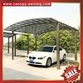 parking polycarbonate pc aluminum aluminum alloy carport car port shelter canopy