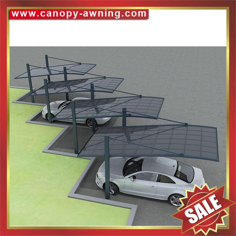 Parking Polycarbonate Pc Aluminum Aluminum Alloy Carport