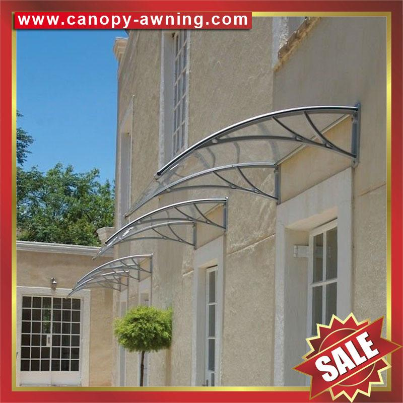 outdoor diy pc polycarbonate house window Door canopies cover Canopy awning