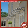 outdoor diy pc polycarbonate house window Door canopies cover Canopy awning 1