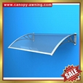 outdoor diy pc polycarbonate house window Door canopies cover Canopy awning 4
