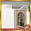 outdoor diy pc polycarbonate house window Door canopies cover Canopy awning 5