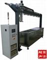 PLC程序控制六槽式超聲波清洗