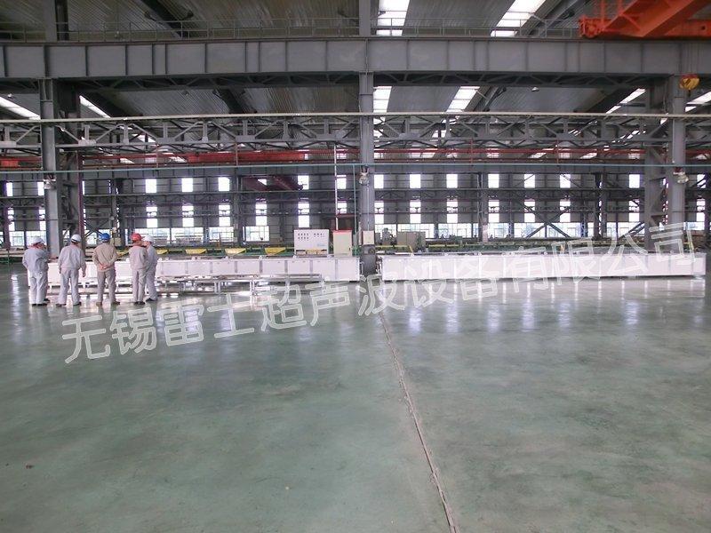 16米長銅管鋼管超聲波清洗設備 4