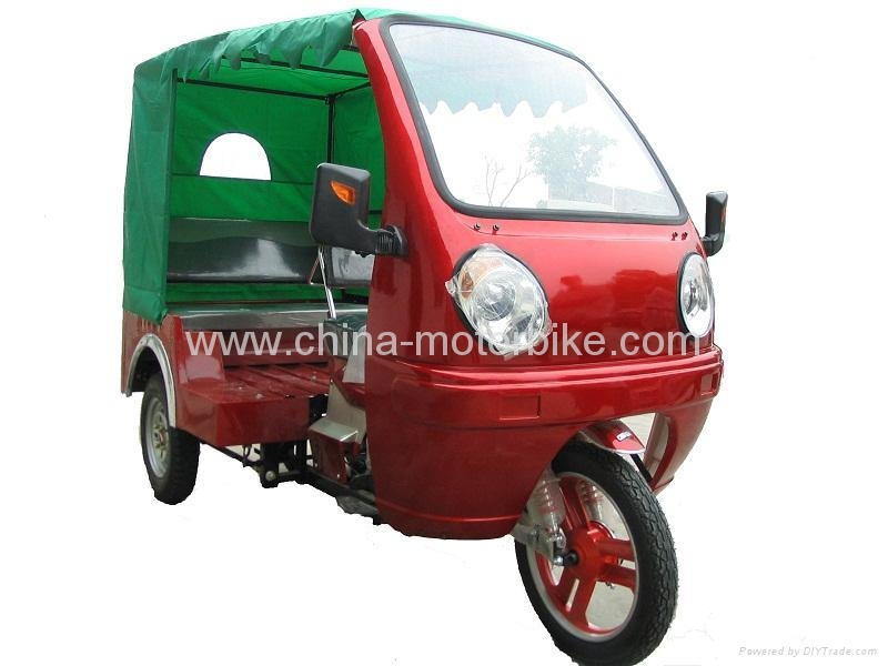 China Passsenger Tricycle Moto Taxi with Cabin 150cc 175cc  1