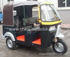 Rickshaw passenger tricycle CNG option
